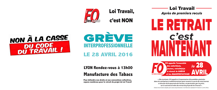 grève interpro 28 avril